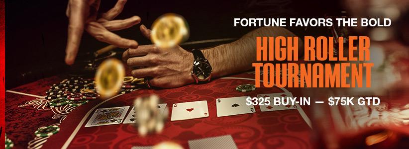 75k High Roller Poker Tournament at Ignition Casino