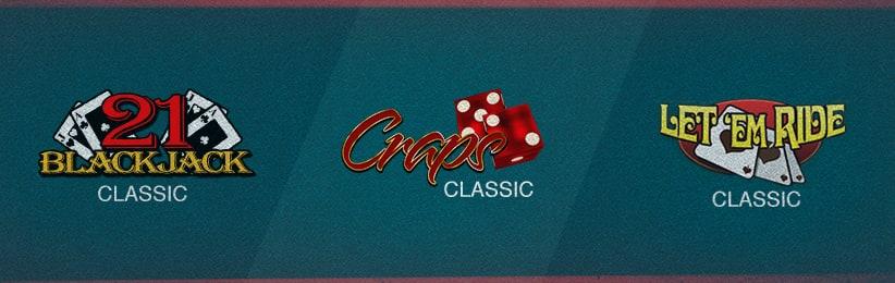 Classic Casino Games Overview - Ignition Casino